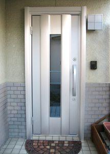 岡山市内 M様邸 玄関ドア交換
